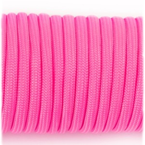 Паракорд. Paracord Type III 550, bright pink #053