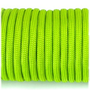 Паракорд. Paracord Type III 550, fluo green #017