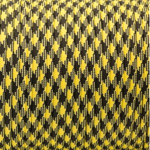 Паракорд. Paracord Type III 550, black yellow camo #043