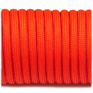 Паракорд. Paracord Type III 550, orange red #009