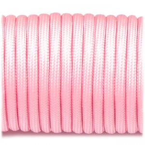 Паракорд. Paracord Type III 550, pink #020
