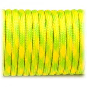 Паракорд 550, fluor yellow camo #040