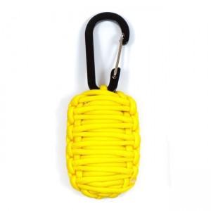 Набор для выживания из паракорда, yellow #019