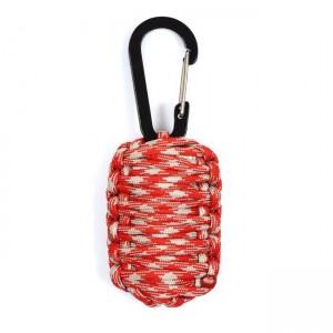 Набор для выживания из паракорда, red&light grey camo