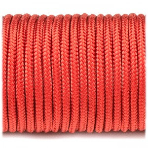 Paracord 100, red #021-2