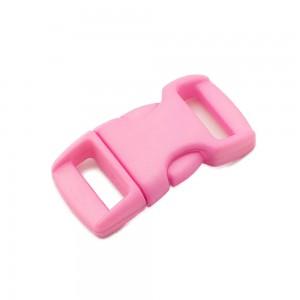 """3/8"""", розовый, фастекс пластиковый"""