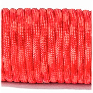 Паракорд. Paracord Type III 550, red orange #039