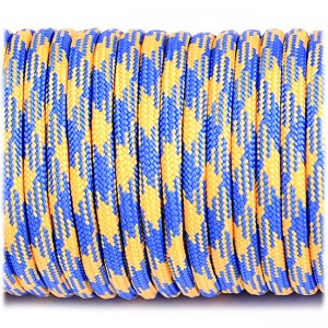 Паракорд 550, blue&yellow #212