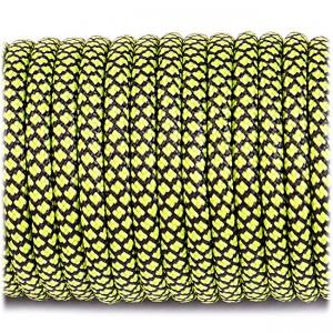 Paracord 550, fluor green snake #264