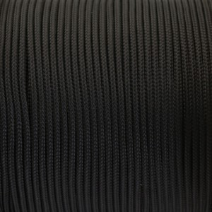 Paracord 100, black #016-2