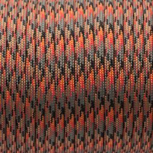 Paracord 550, lava #302