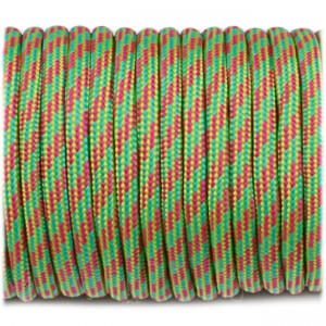 Паракорд. Paracord Type III 550, crimson green camo #128