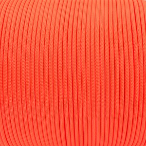 Паракорд. Paracord Type III 550, soffit orange #345