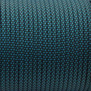Paracord 550, blue snake #340