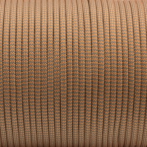 Паракорд. Paracord Type III 550, grey orange wave #329