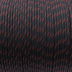 Паракорд. Paracord Type III 550, thin crimson line #227