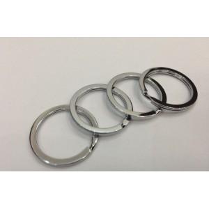 Кольцо плоское для ключей, 30 мм
