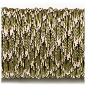 Паракорд. Paracord Type III 550, deep woods #348