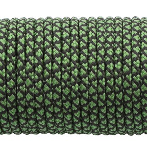 Paracord 100,  green snake #265-2