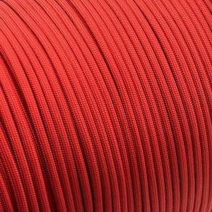 Paracord 550, red (fire) #021-F