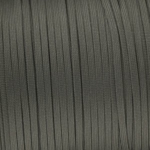 Coreless Paracord, dark grey #030-H, (полый шнур)