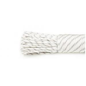 SALE! Паракорд 550, reflective white #r3007, моток 10 метров