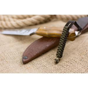 Темляк из паракорда, CUBOID SCULL, #016/010