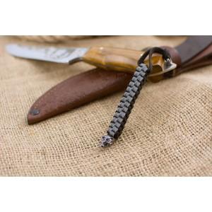 Темляк из паракорда, CUBOID SCULL, #016/030