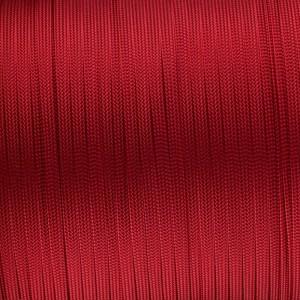 Coreless Paracord, red #021F-Н, (полый шнур)