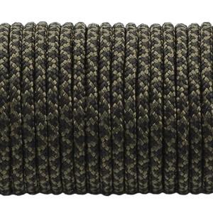 Paracord 275 (2,2mm), black snake #308-2