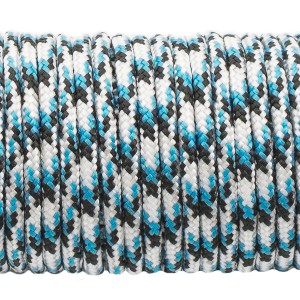 Paracord 275 (2,2mm), blue black camo #104-2