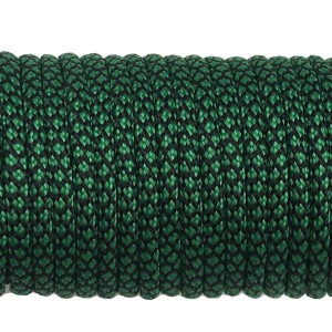 Paracord 550, dark emerald green snake #415 (016+022)