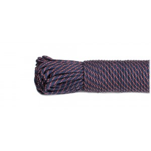 SALE! Paracord 550, navy classic #378, моток 10м