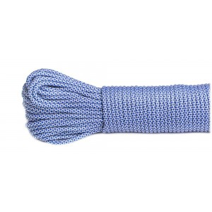 SALE! Paracord 550, white blue snake #338, моток 10 метров