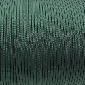 Paracord 550, dark emerald green #022