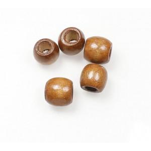 "Бусина ""Деревянный шар"", 10 мм коричневая"