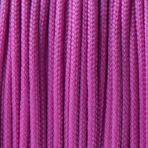 Paracord 425 Type II (3mm), bright pink #NR015-Тype2