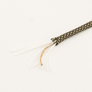 Paracord Survival Fire, coyote brown snake #310SF