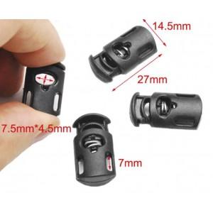 Фиксатор Hi, black 27*14,5 mm