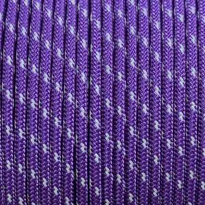 Paracord 275 (2,2mm), reflective X2 purple #r2026-2 (светоотражающий)