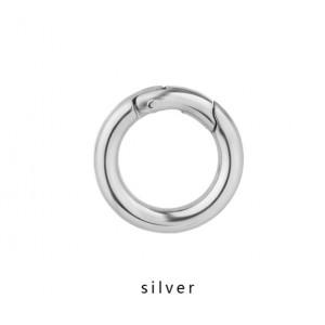 Кольцо - карабин, 25мм. Серебро