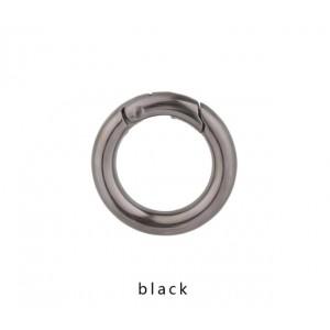 Кольцо - карабин, 35мм. Черное