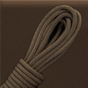 Paracord 550, BLACK NOISE: coyote brown #012-BN