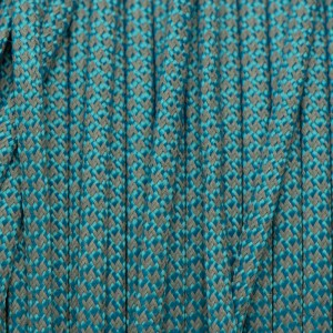 Paracord 550, super reflective 50/50  snake , Blue  #r16050S (светоотражающий)