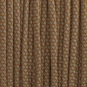 Paracord 550, super reflective 50/50  snake copper brown #r16015S (светоотражающий)