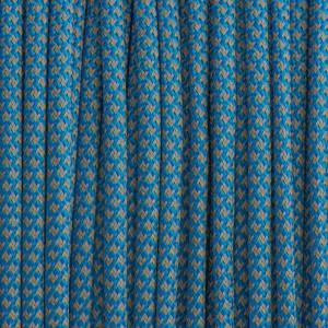 Paracord 550, super reflective 50/50  snake sky blue #r16024S (светоотражающий)