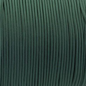 Minicord. Paracord 100 Type I (1.9 mm), dark emerald green #022-type1