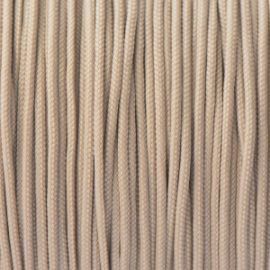 Minicord. Paracord 100 Type I (1.9 mm), tan #068-type1