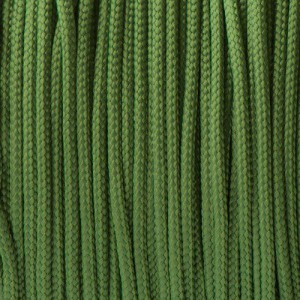 Minicord. Paracord 100 Type I (1.9 mm), moss #331-type1