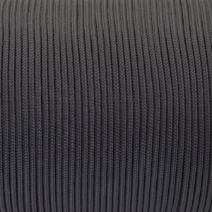 Minicord. Paracord 100 Type I (1.9 mm), Raven wing #411-type1